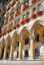Detail of Town hall in Vienna, Austria Stock Photo