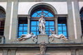 Detail of the Uffizi Gallery in Florence Royalty Free Stock Photo