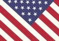Detail Of USA Flag