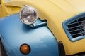 Detail of a vintage car Royalty Free Stock Photo