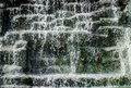 Detail of waterfall close up Royalty Free Stock Photography
