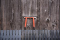 Detail of wood Japanese house in Gion Royalty Free Stock Photo