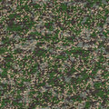 Detailed camouflage fabric seamless texture pattern tileable Royalty Free Stock Image