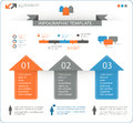 Detailed infographic elements set with options eps Stock Images