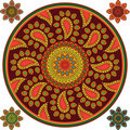 Detailed Mandala Background Stock Photos