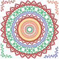 Detailed Mandala Design Royalty Free Stock Photography