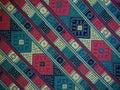 Ruka tkaný textilní Bhútán