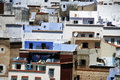 Detailed view on Chefchaouen, Morocco Royalty Free Stock Photo