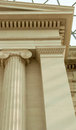 Details of architecture of British Museum London, UK Royalty Free Stock Photo