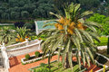 Details of the Bahai Gardens in Haifa Israel Royalty Free Stock Photography