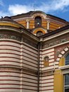 Details from Central Mineral Bath in Sofia. Now Museum for the History of Sofia. Royalty Free Stock Photo