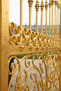 Details of golden gate. Royalty Free Stock Images