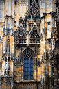 Details of gothic decorations Stock Image