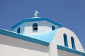 Details of a greek church typical on the island kos Stock Images