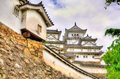 Details of Himeji Castle in Japan Royalty Free Stock Photo