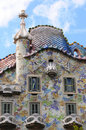 Details of the house of Gaudi Royalty Free Stock Photos