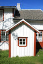Details of a house of  Sennesvik Royalty Free Stock Photo