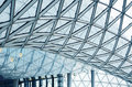 Details of an interior of modern office building Royalty Free Stock Photo