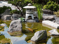 Details of Japanese garden Stock Photography