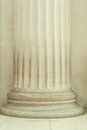 Details of pillar of a building Royalty Free Stock Photo