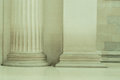 Details of pillars columns in London Royalty Free Stock Photo