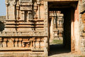 Details of ruin temple in hampi Royalty Free Stock Photo