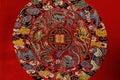 Details of Shu brocade, China Royalty Free Stock Photo