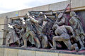 Details of Soviet Army monument Royalty Free Stock Photo