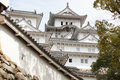 Details of Structure of the Japan Castle Royalty Free Stock Image