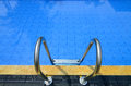 Details of the swimming pool Royalty Free Stock Photo