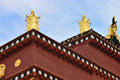 Details of tibetan temple Stock Photo