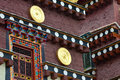 Details of tibetan temple Stock Images