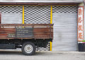 Details of the truck on street in Melaka, Malaysia Royalty Free Stock Photo