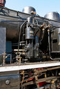 Details of a vintage steam train Stock Photos