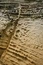 Detalle de la piedra arenisca 1 Fotos de archivo libres de regalías
