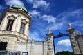 Detalle del belvedere Palace.Vienna Imagenes de archivo