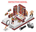 Detective Novel Design Concept