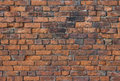 A Deteriorating Old Brick Wall...