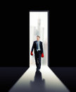 Determined Businessman Is Ready For The Challenge Royalty Free Stock Photo