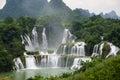 Detian waterfall Royalty Free Stock Photo