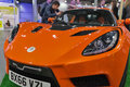Detroit Electric car on Kiev Plug-in Ukraine 2017 Exhibition.