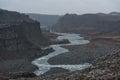 Dettifoss Waterfall In Iceland...