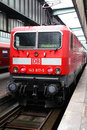 Deutsche Bahn train Stock Photo