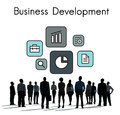 Development Investment Market Expansion Icon Royalty Free Stock Photo