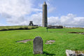 Devenish Island Monastic Site, North Stock Photo