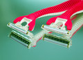 Device for shaving. closeup Royalty Free Stock Photo