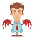 Devil Businessman Stock Photos
