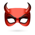 Devil mask Royalty Free Stock Photo