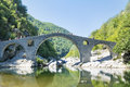 Devil's Bridge  in Bulgaria ,Rhodope Mountains Royalty Free Stock Photo