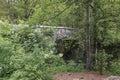 Devil`s bridge on River Mostnica Mostnice Korita near lake Bohinj in Slovenia Royalty Free Stock Photo